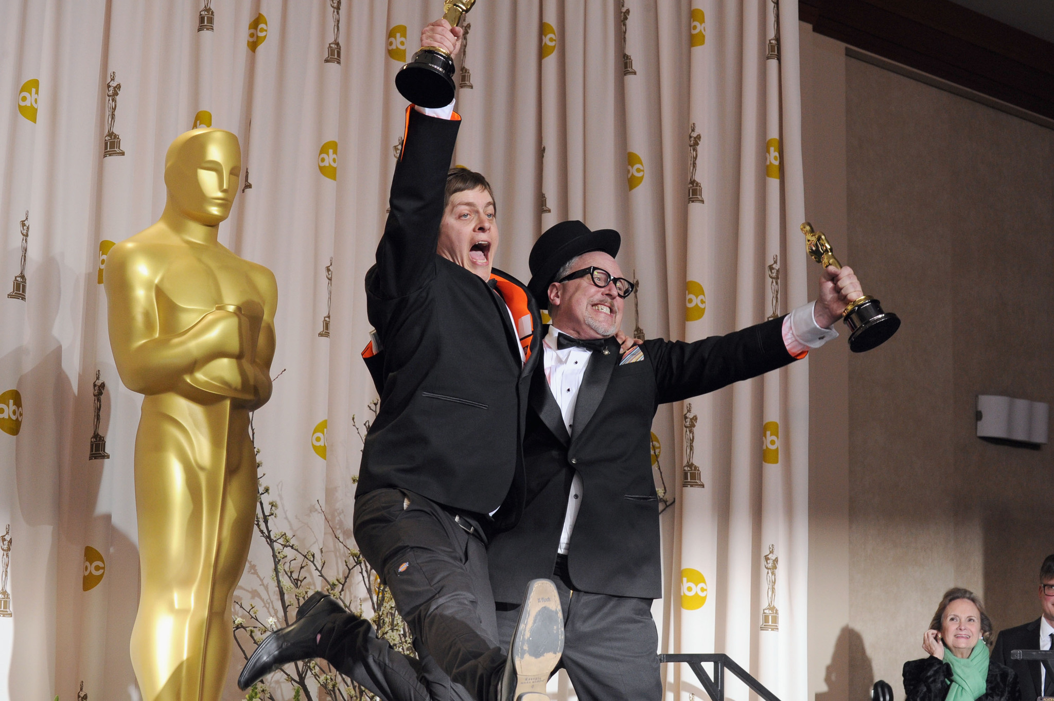 William Joyce and Brandon Oldenburg at an event for The 84th Annual Academy Awards (2012)