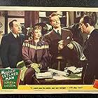 Lloyd Corrigan, Allen Jenkins, Red Skelton, and Ann Sothern in Maisie Gets Her Man (1942)