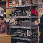 Richard Ayoade and Katherine Parkinson in The IT Crowd (2006)
