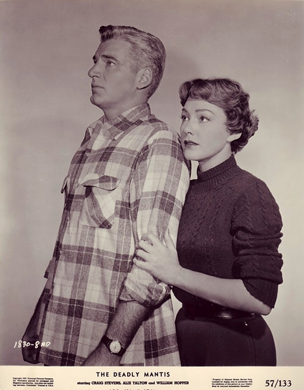 William Hopper e Alix Talton