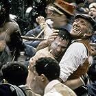 Paul Belmondo and Rufus in Les misérables (1995)