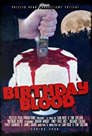 Birthday Blood Poster