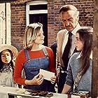 David Niven, Jodie Foster, Veronica Quilligan, and Sarah Tamakuni in Candleshoe (1977)