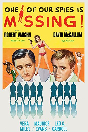 Robert Vaughn and David McCallum in One of Our Spies Is Missing (1966)