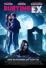 Anton Yelchin, Alexandra Daddario, and Ashley Greene in Burying the Ex (2014)