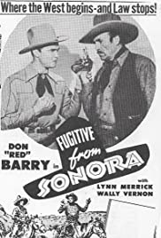 Fugitive from Sonora Poster