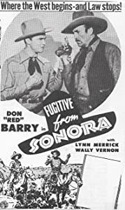 Happy watch online movie Fugitive from Sonora [avi]