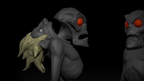 Fortnite: The Art Of Monsters Husk