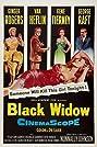 Black Widow (1954) Poster