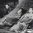 Toshirô Mifune, Reiko Dan, and Takako Irie in Tsubaki Sanjûrô (1962)