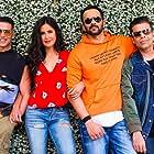 Karan Johar, Akshay Kumar, Katrina Kaif, and Rohit Shetty in Sooryavanshi (2021)
