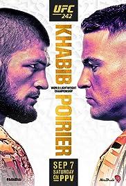 UFC 242: Khabib vs. Poirier Poster