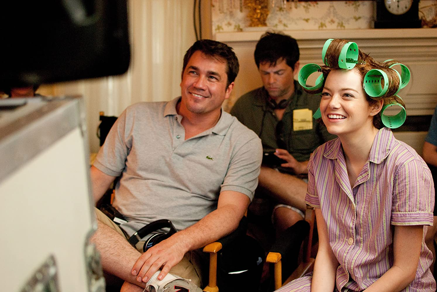 Brunson Green, Tate Taylor, and Emma Stone in The Help (2011)