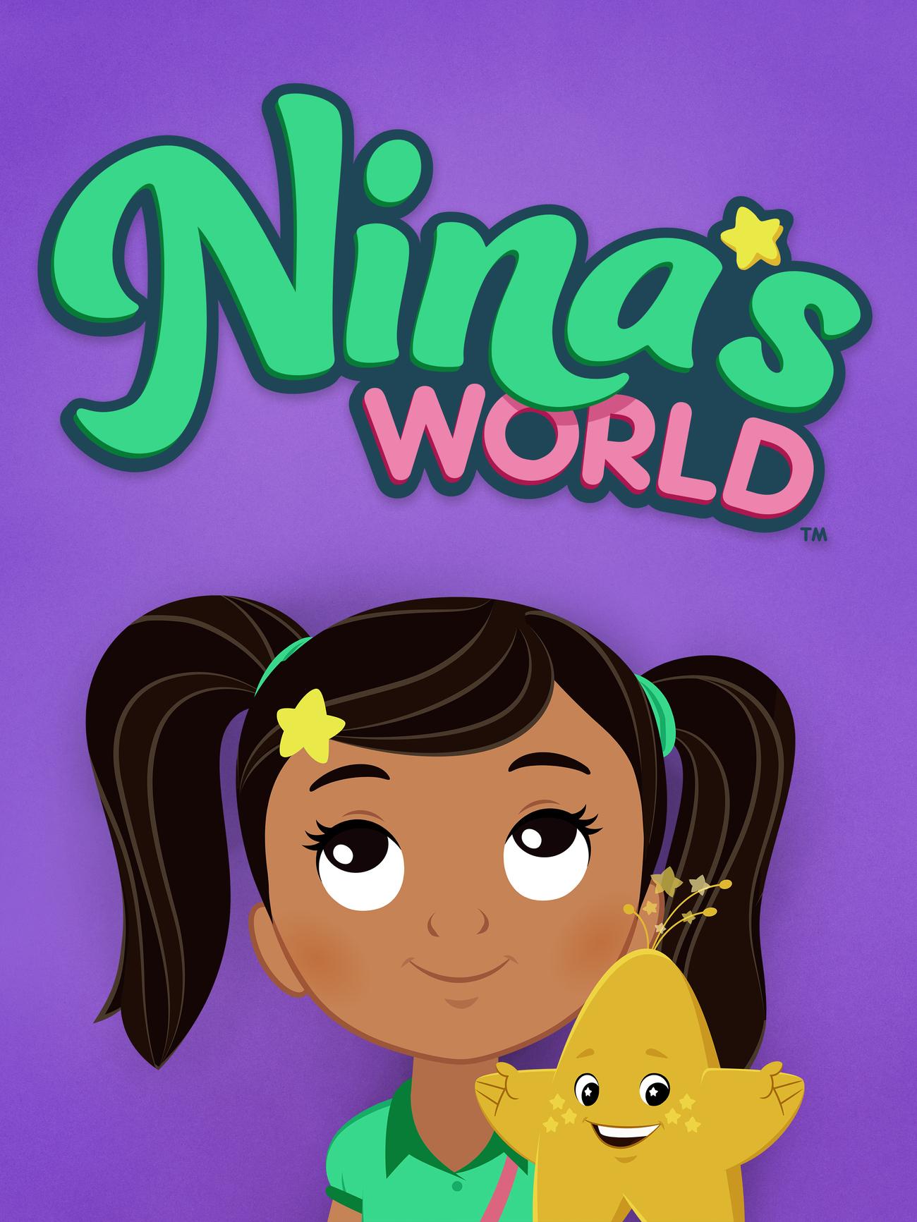 Nina Sabrina Flores in Nina's World Coloring Page - Free Printable ... | 1733x1300