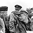 Brian Keith, Paul Ford, Guy Raymond, and Richard Schaal in The Russians Are Coming the Russians Are Coming (1966)