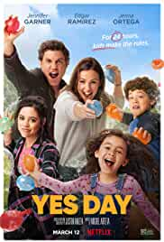 Yes Day (2021) HDRip English Movie Watch Online Free