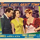 Joan Blondell, Janet Blair, and John Howard in Three Girls About Town (1941)