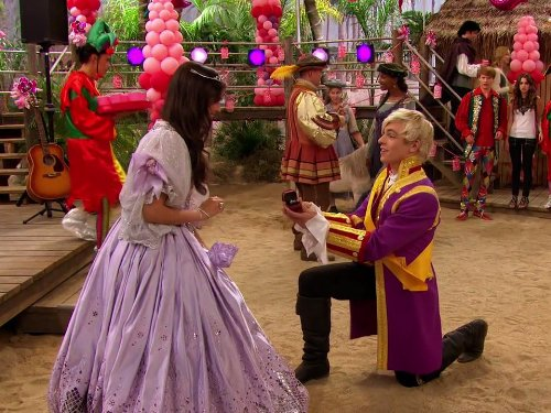 Austin and ally princesses and prizes watch series