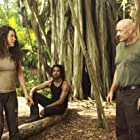 Naveen Andrews, Terry O'Quinn, and Evangeline Lilly in Lost (2004)