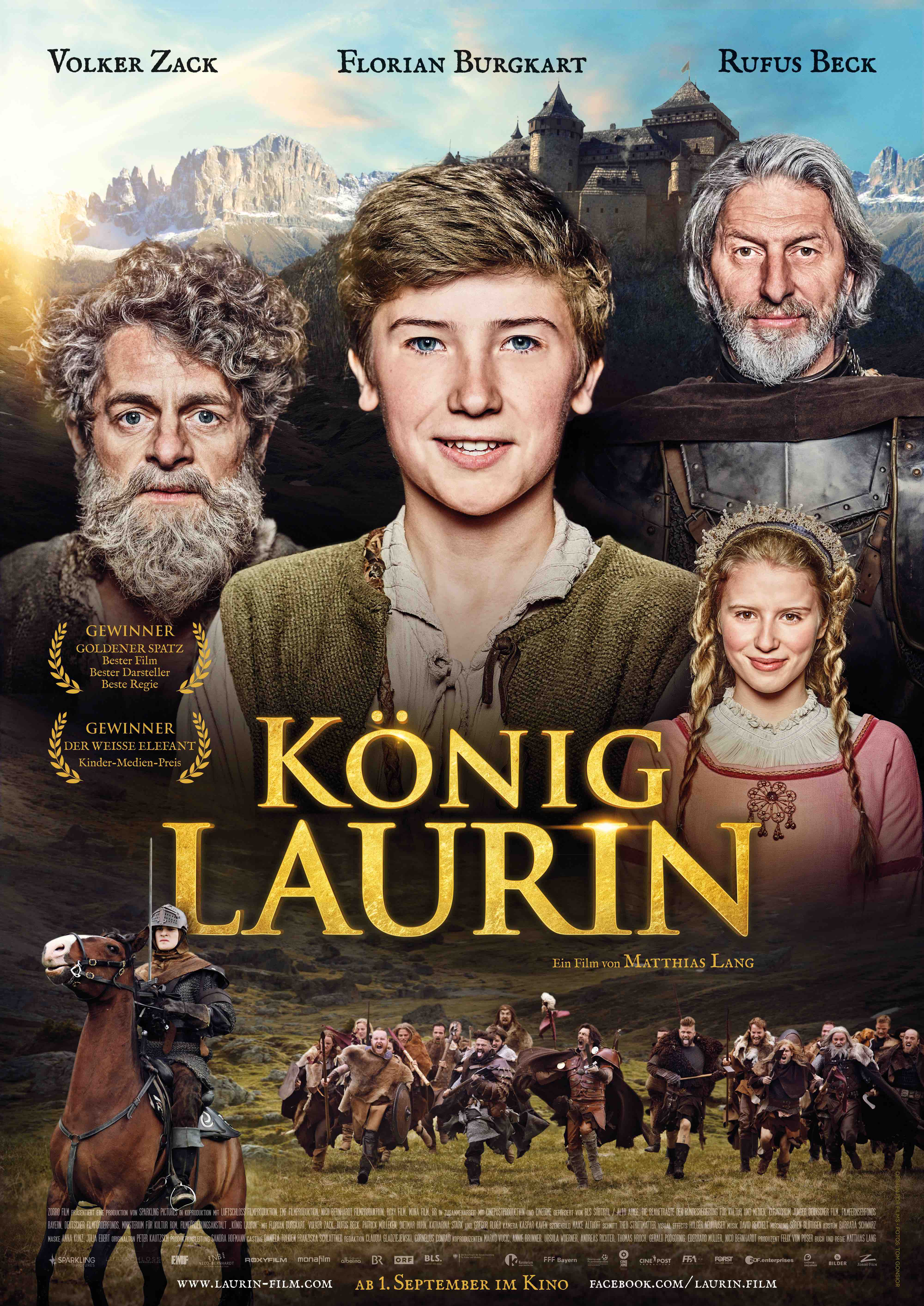 KARALIUS LAURINAS (2016) / König Laurin