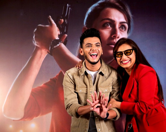 Rani Mukerji and Vishal Jethwa in Mardaani 2 (2019)