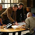 William Fichtner, Wentworth Miller, Dominic Purcell, Wade Williams, and Amaury Nolasco in Prison Break (2005)