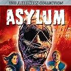 Peter Cushing, Barbara Parkins, Sylvia Syms, Richard Todd, and James Villiers in Asylum (1972)