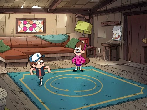 Gravity Falls 1×16 – El Día de la Alfombra
