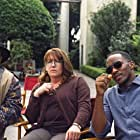 Ann Dowd and Anthony Mackie in Our Brand Is Crisis (2015)