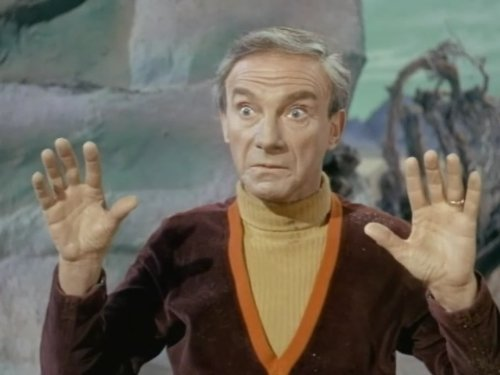 Jonathan Harris in Lost in Space 1965