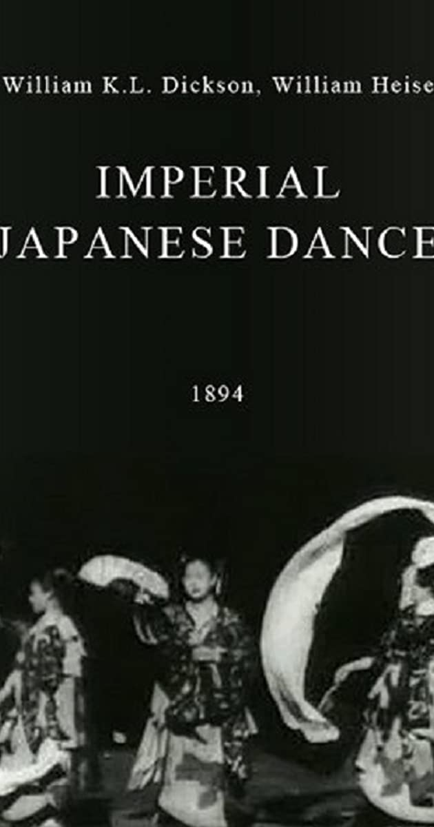 Imperial Japanese Dance 1894 Imdb