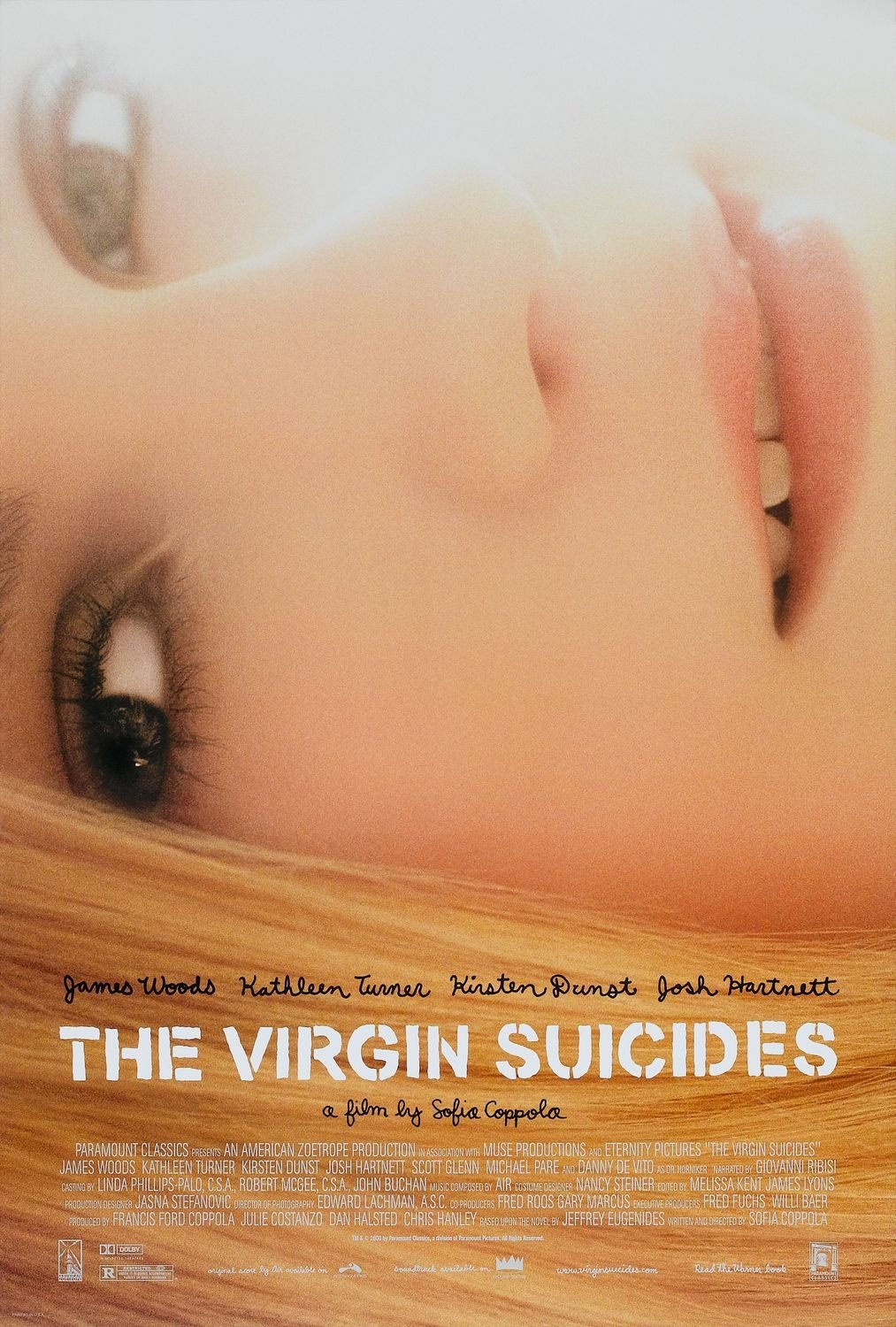 Image result for virgin suicides 1999 poster