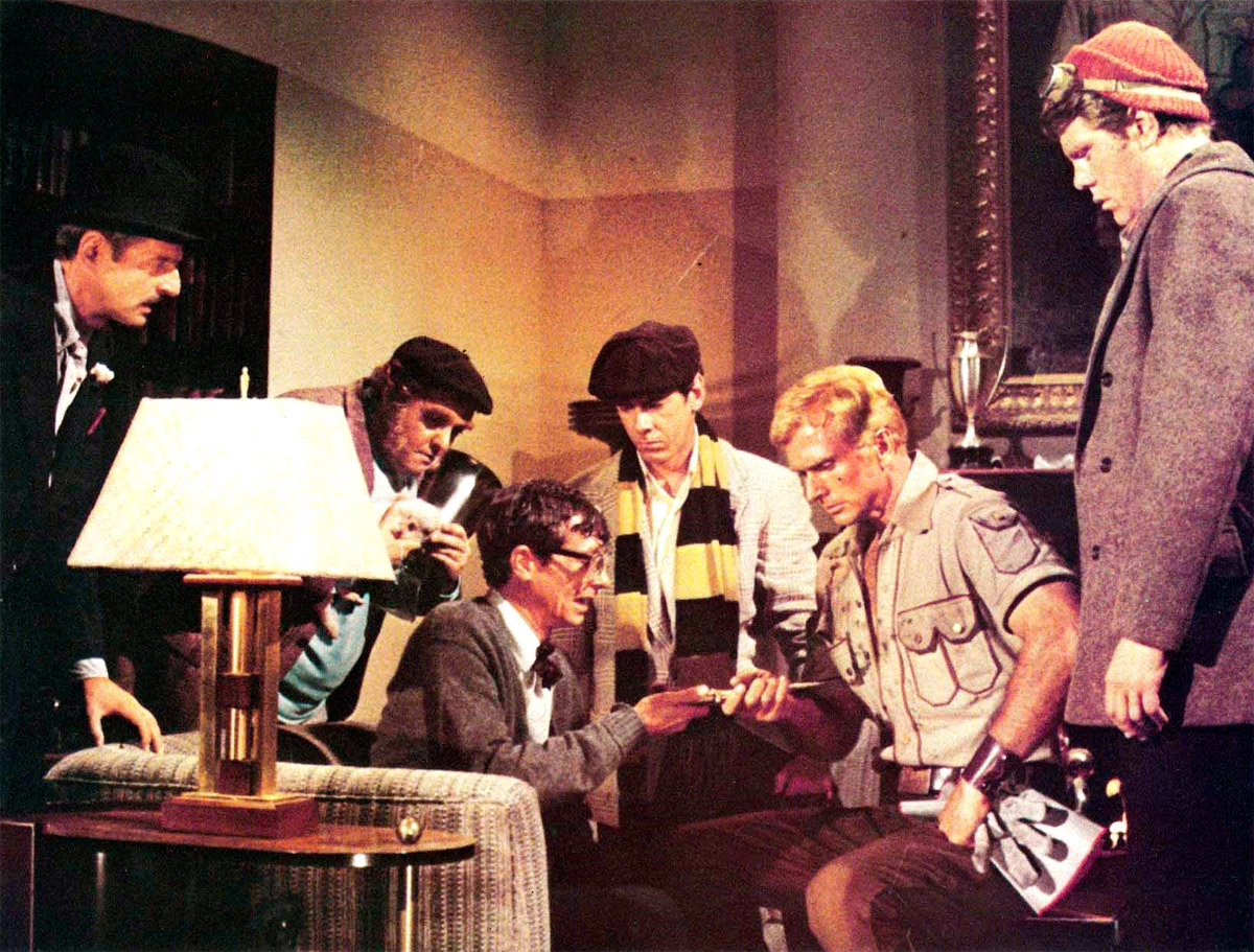 Ron Ely, Paul Gleason, William Lucking, Michael Miller, Eldon Quick, and Darrell Zwerling in Doc Savage: The Man of Bronze (1975)