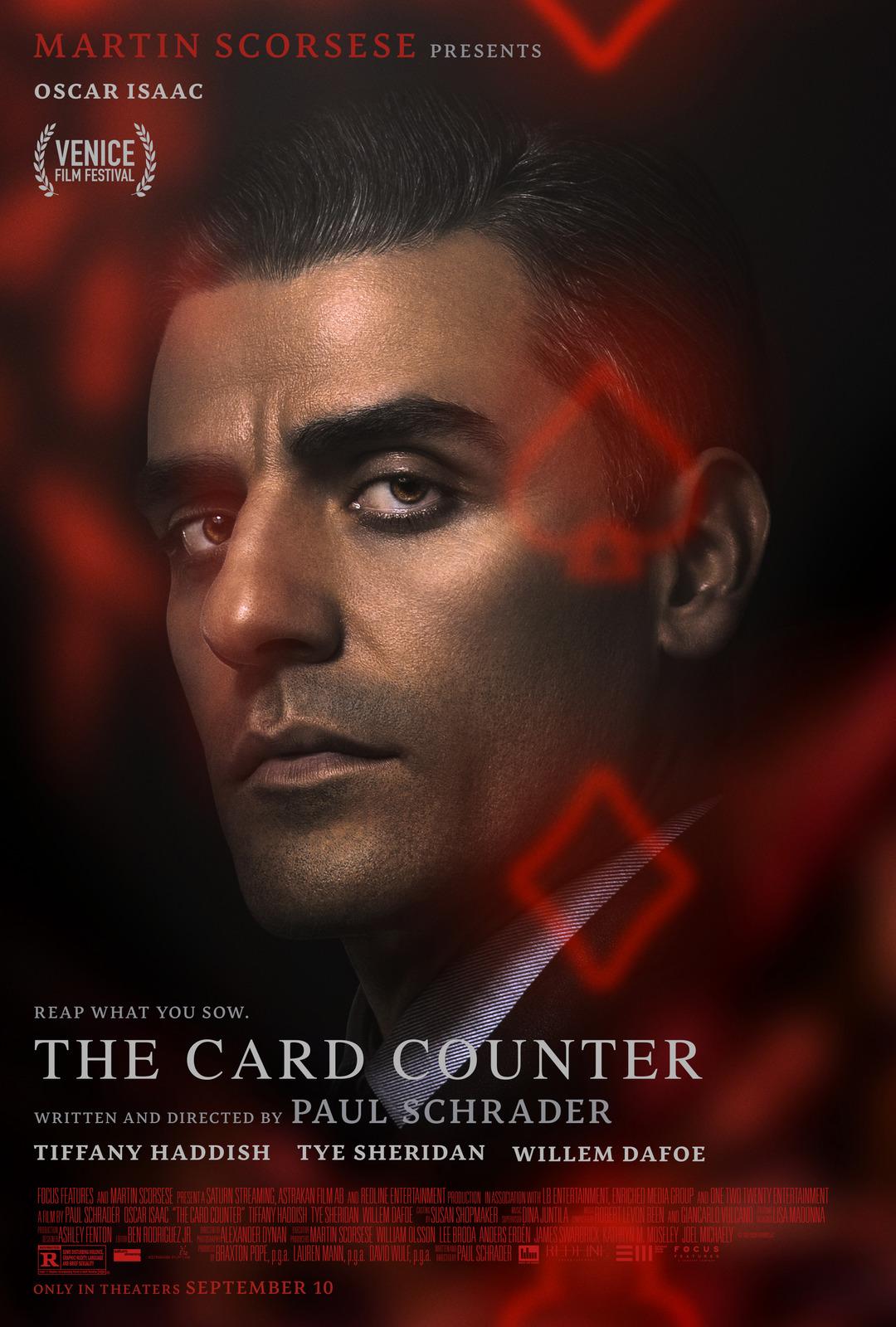 Phim Máy Đếm Thẻ - The Card Counter (2021)