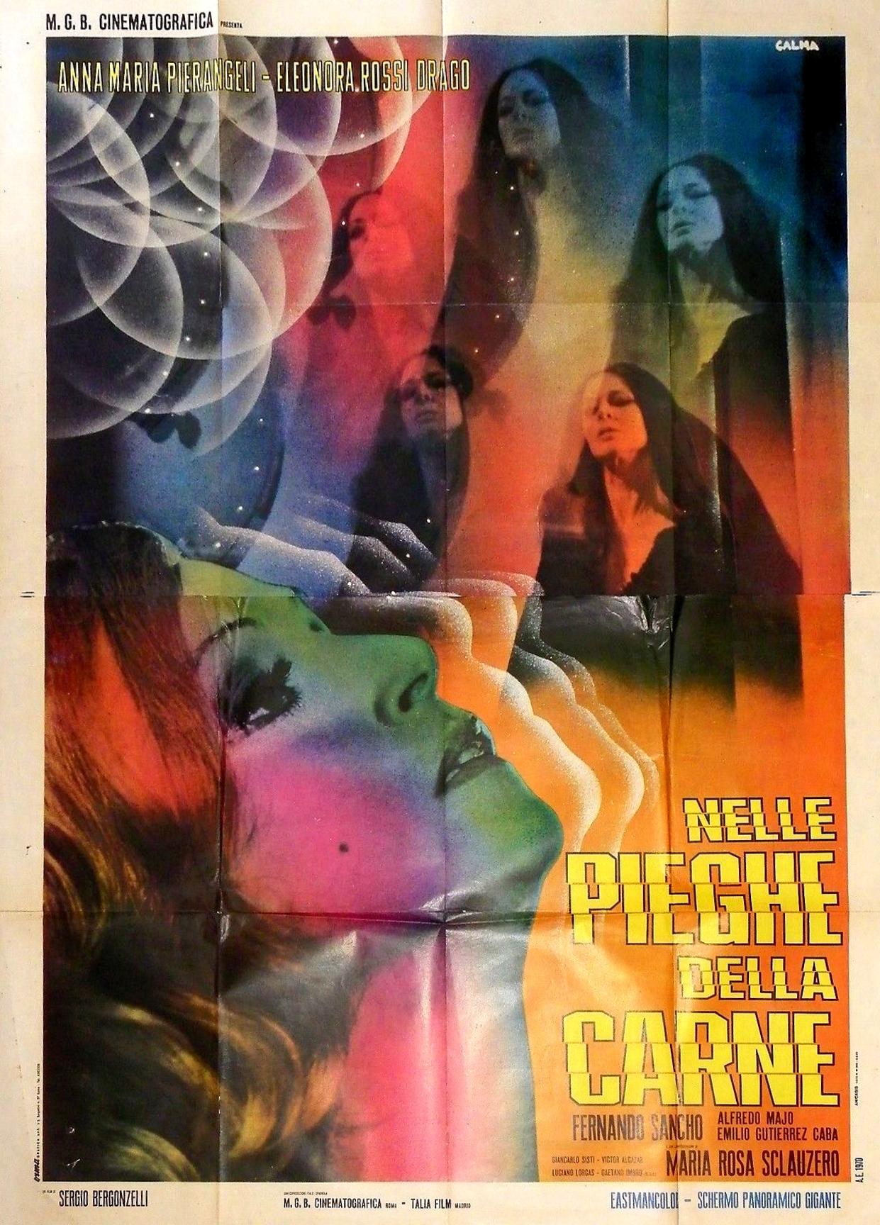 Pier Angeli in Nelle pieghe della carne (1970)