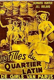 Girls of the Latin Quarter Poster