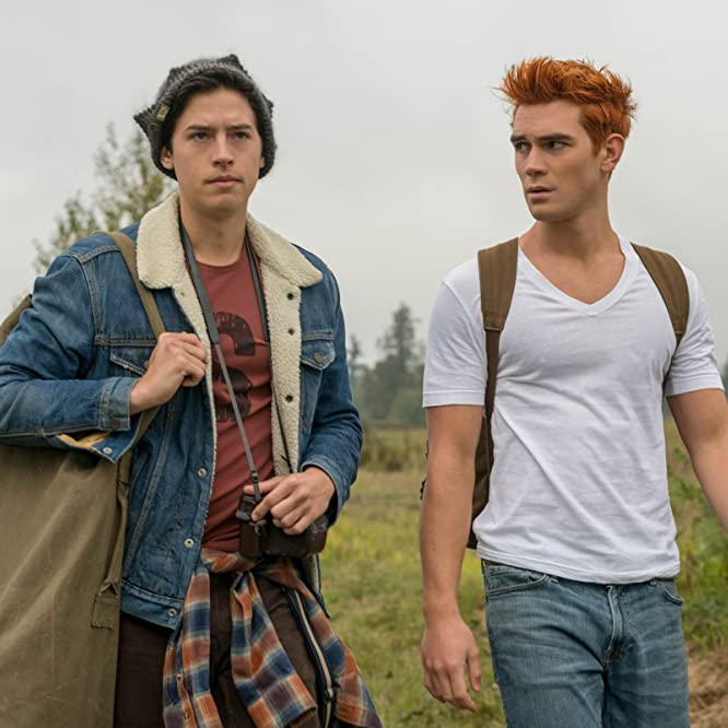 Cole Sprouse and K.J. Apa in Riverdale (2016)