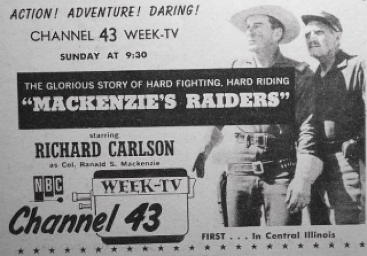 Mackenzie's Raiders (1958)