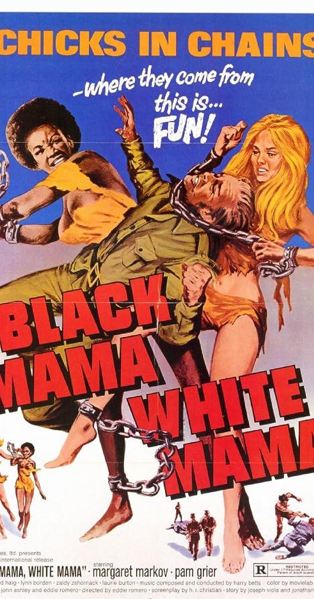 BLACK MAMA WHITE MAMA MOVIE POSTER Chicks in Chains NEW
