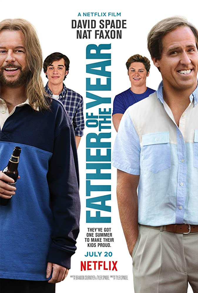 David Spade and Nat Faxon in Father of the Year (2018)