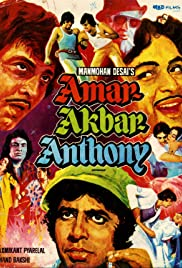 Amar Akbar Anthony (1977) Poster - Movie Forum, Cast, Reviews
