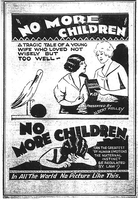 No More Children – 1929 Exploitation Film