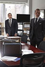 Rick Hoffman, Zeljko Ivanek, Gabriel Macht, and Neal McDonough in Suits (2011)