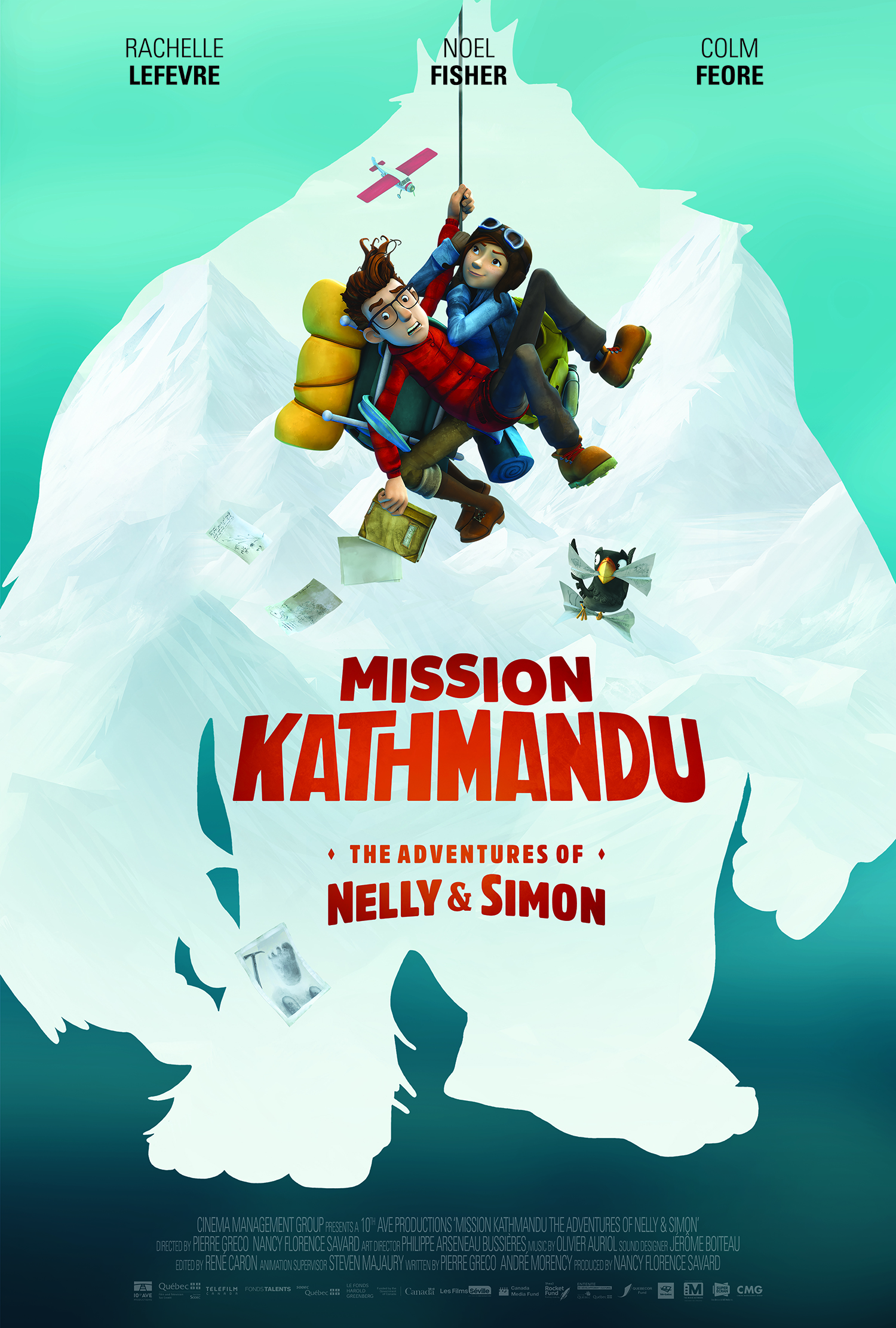 Misija Katmandu: Nelės ir Simono nuotykiai (2017) / Mission Kathmandu: The Adventures of Nelly & Simon