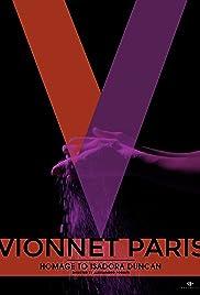 Vionnet Paris Poster
