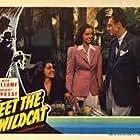 Jerome Cowan, Gloria Franklin, and Margaret Lindsay in Meet the Wildcat (1940)