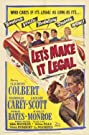 Let's Make It Legal (1951) Poster