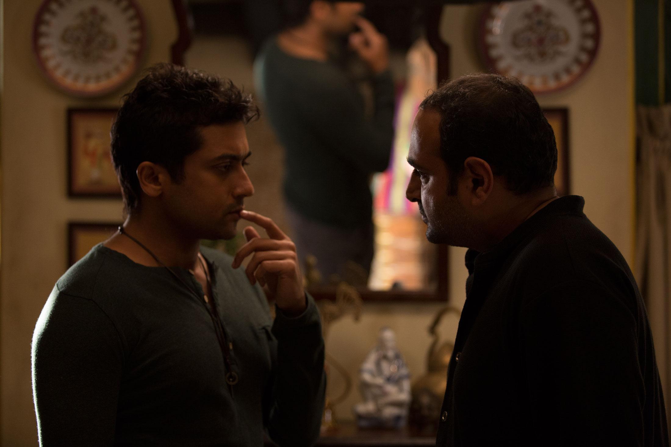 Suriya and Vikram K. Kumar in 24 (2016)