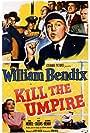 William Bendix and Gloria Henry in Kill the Umpire (1950)