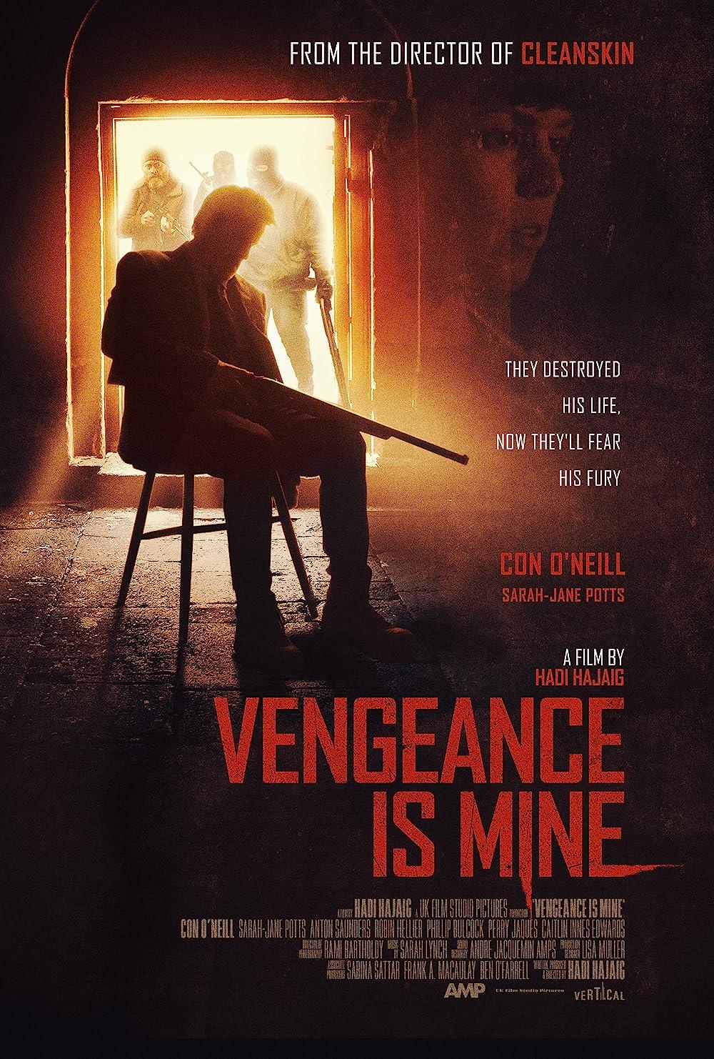 Vengeance Is Mine 2021 English 720p HDRip 800MB Download
